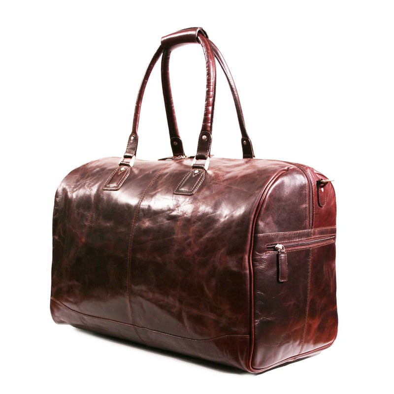 Nuvo Large Terence Leather Duffel Bag