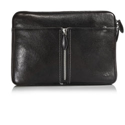 Jekyll and Hide Zulu Leather Laptop Folder | Black