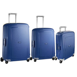 Samsonite S'Cure Set of 3 Spinners | Dark Blue