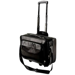 Adpel Nappa Leather Executive Trolley Case 15.4"