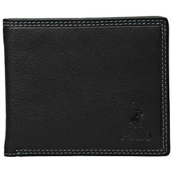 Polo Tuscany Credit Card Billfold Wallet | Black