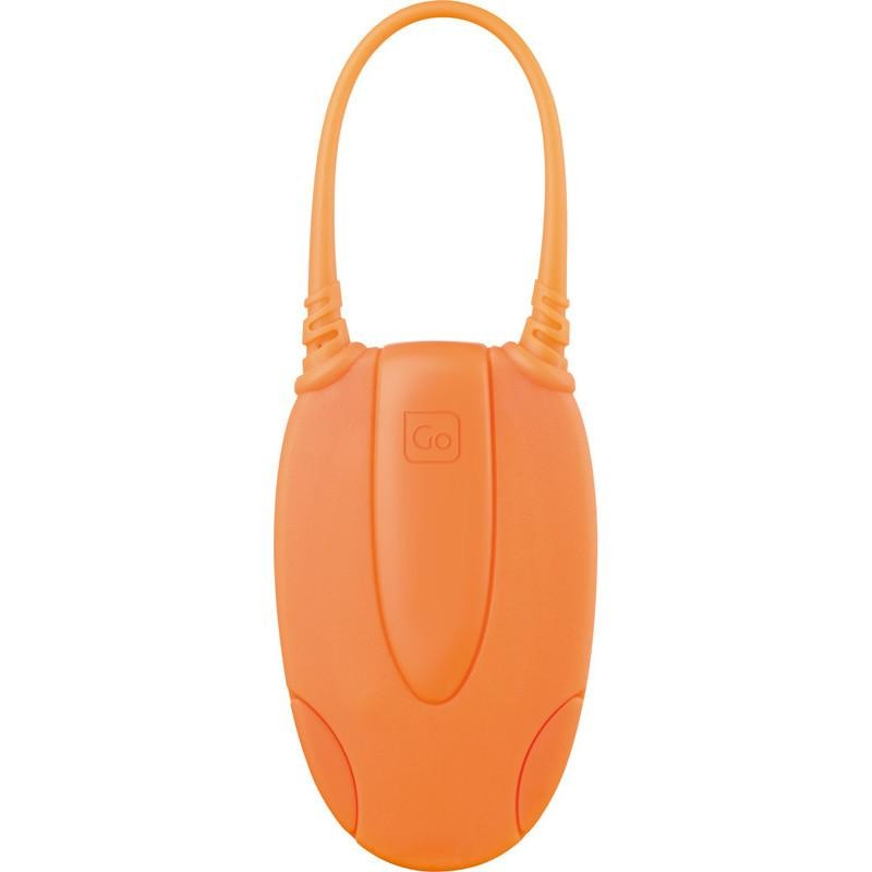 Go Travel Glo I.D Luggage Tag Orange