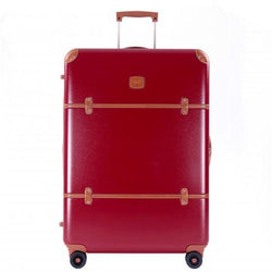 BRIC'S Bellagio 76cm 4-Wheel Spinner Travel Suitcase | Red