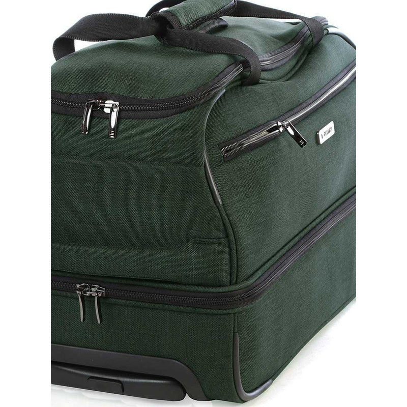 Cellini Grande Double Decker Cabin Trolley Duffle Green