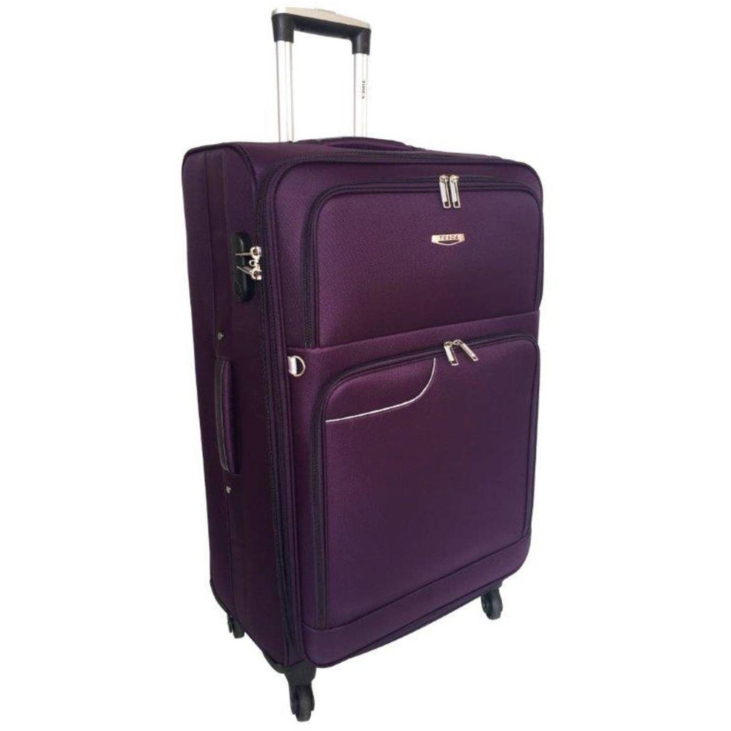 Tosca Gold Ultralight 70cm Trolley Case | Purple
