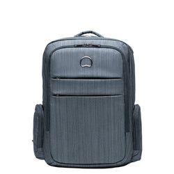 "Delsey Clair 15.6"" Laptop Backpack Pepper Grey"