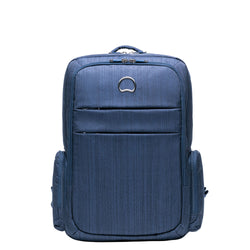 "Delsey Clair 15.6"" Laptop Backpack Navy Blue"