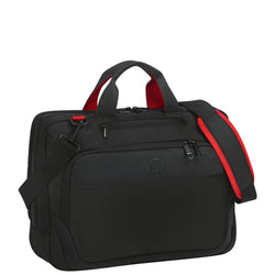 "Delsey Parvis Plus 15.6"" 2 Compartment Laptop Bag"