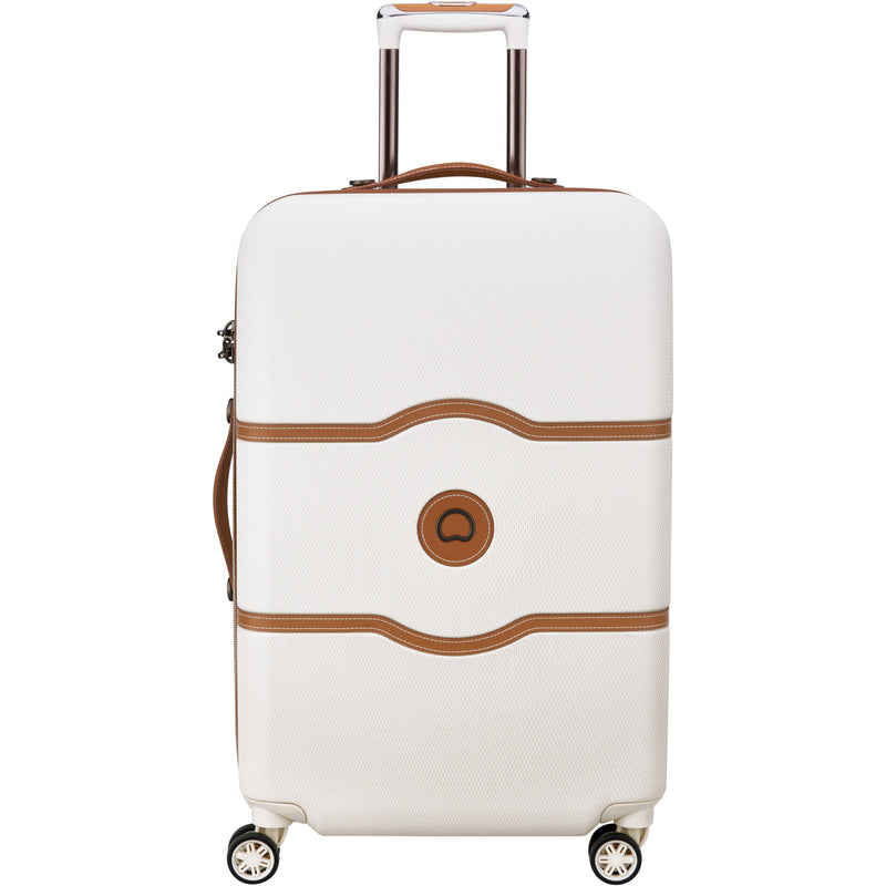Delsey Chatelet Air 67cm Medium Trolley Case | Angora White