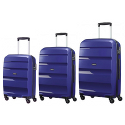 American Tourister Bon-Air 3-PC Travel Luggage Suitcase Set | Midnight Blue
