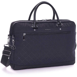 DIAMOND STAR BUSINESS BAG DOUBLE COMPARTMENT BLACK
