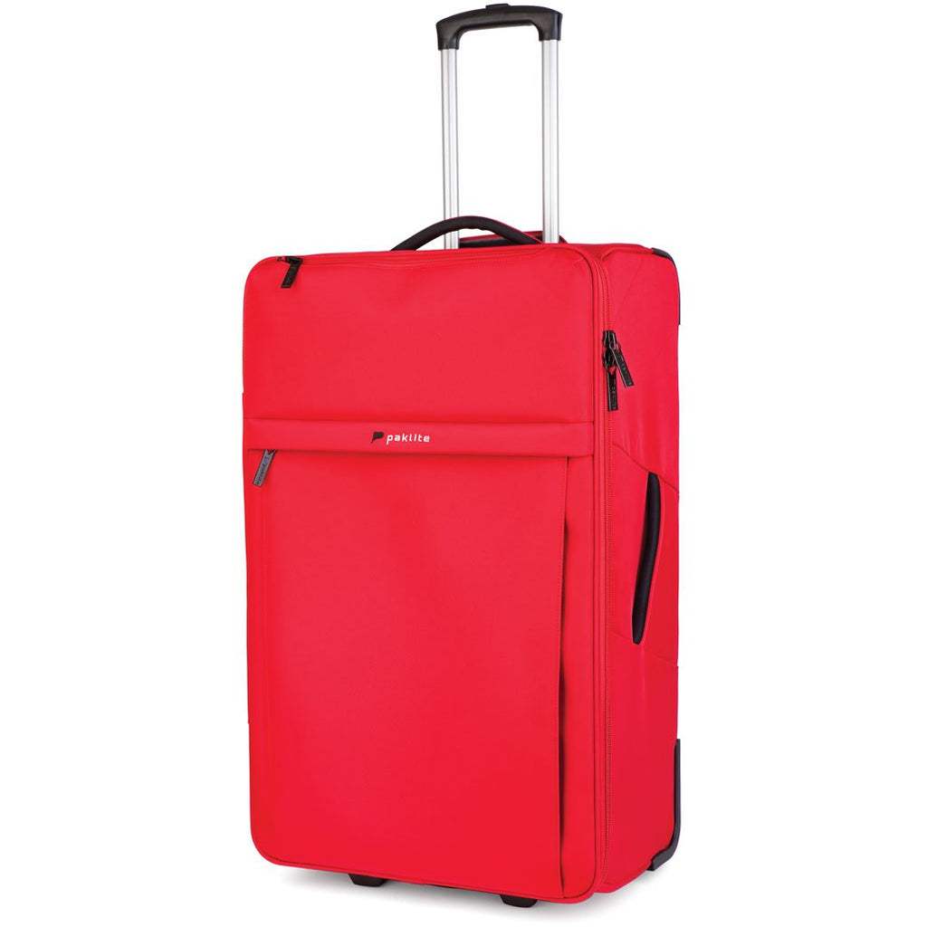 Paklite Sto-Way 77cm Collapsible Roller Case | Red