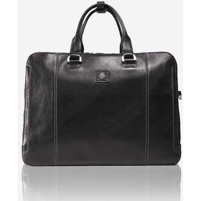 Jekyll & Hide Berlin Laptop Briefcase | Black