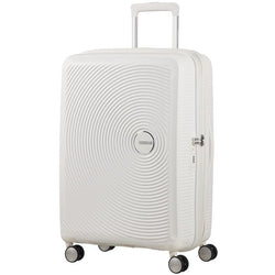 American Tourister Soundbox Spinner Expandable 67cm | Pure White