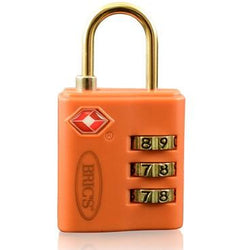 Bric's TSA Combination Lock for Trolleys 1 Piece | Tobacco