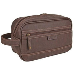 Troop London Wash Bag | Brown