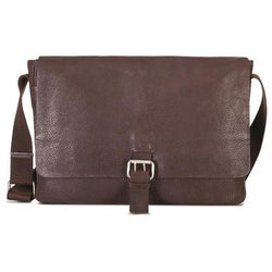 "Brando Cooper 13"" Messenger Type Crossbody Bag Brown"