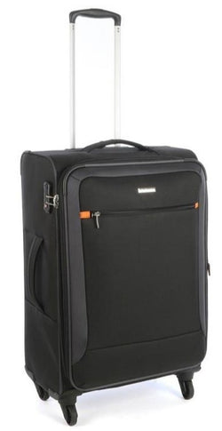 Cellini Carnival 660mm 4 Wheel Trolley Case | Black