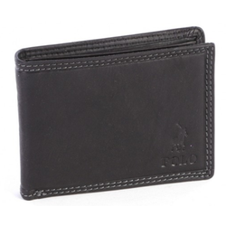 Polo Tuscany Small Multicard Coin Wallet | Black