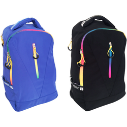 "Edison Sport Large 2Div Neon Zip 15.6"" Neoprene Sleeve Laptop Backpack"