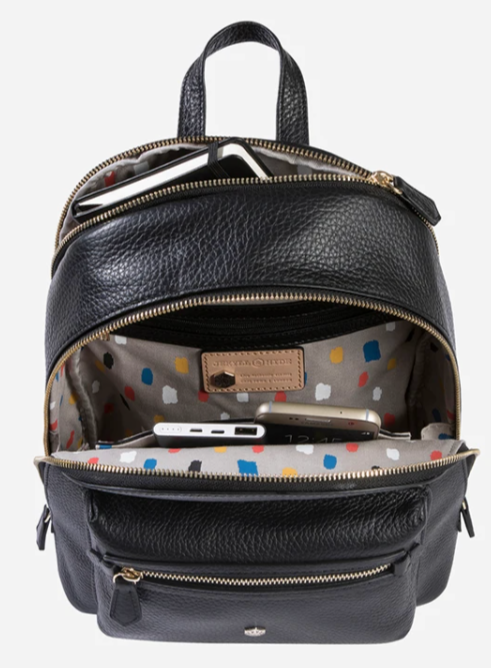 Jekyll & Hide Classic Capri Leather Backpack | Black