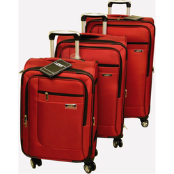 Voss Set of 3 Expandable Spinner Suitcases