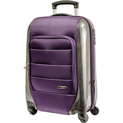 Voss Hybrid 55cm Cabin Travel Suitcase | Purple