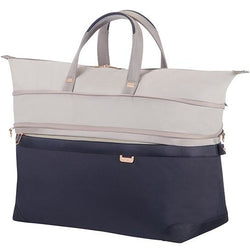 Samsonite Uplite Expandable Duffle Bag 55cm | Pearl/Blue