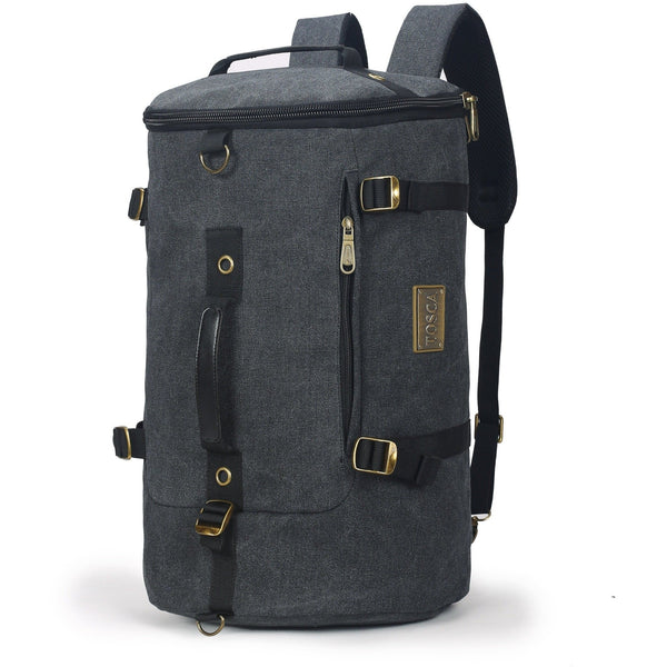 Tosca Canvas Duffle Backpack With 15