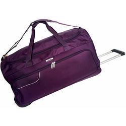 Tosca Gold Ultralight 50cm Duffel Bag on Wheels | Purple