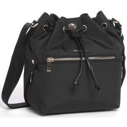 Hedgren Prism Bucket Drawstring Handbag | Black