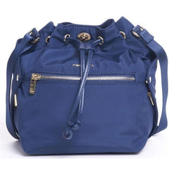 Hedgren Prism Bucket Drawstring Handbag | Dress Blue