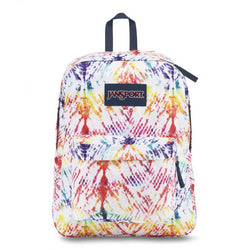 Jansport Superbreak Rainbow Tie Dye