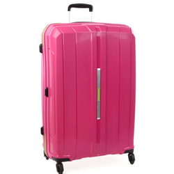 Cellini Cancun Hardshell 78cm Trolley Case Pink