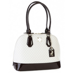 Polo Madison Dome Handbag White