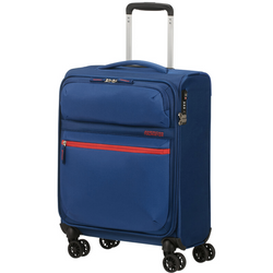 American Tourister Matchup 55cm Cabin Spinner Neon Blue