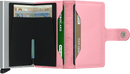 Secrid Miniwallet Crisple - Pink - iBags.co.za