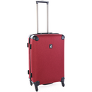 CLEARANCE Polo Classic Double Pack Medium 4 Wheel Trolley Case | Red