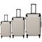 Polo Classic Double Pack Set of 3 Wheeled Trolley Cases | Beige