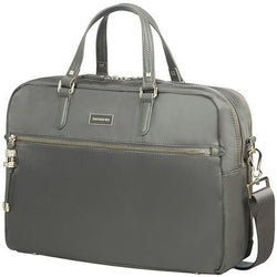 Samsonite Karissa Biz Bailhandle 15.6 2 Comp - Gunm.Green