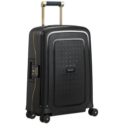 Samsonite S'Cure Dlx Spinner 55cm - Black/Gold