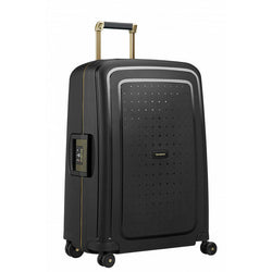 Samsonite S'Cure Dlx Spinner 69cm - Black/Gold