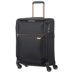 Samsonite Uplite Spinner 55/20 Toppocket- Black/Gold