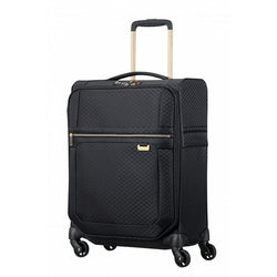 Samsonite Uplite Spinner 55cm Exp - Black/Gold