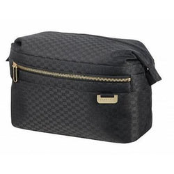 Samsonite Uplite Toilet Case- Black/Gold