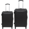 Polo Classic Double Pack Set of 2 Wheeled Trolley Cases (Medium + Large) | Black