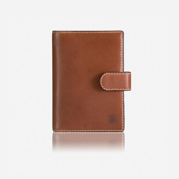 Jekyll & Hide Texas Leather Passport Holder | Clay - iBags.co.za