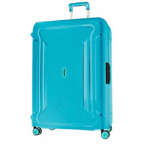 380813159c4c American Tourister Tribus 78cm Large Spinner | Turquoise