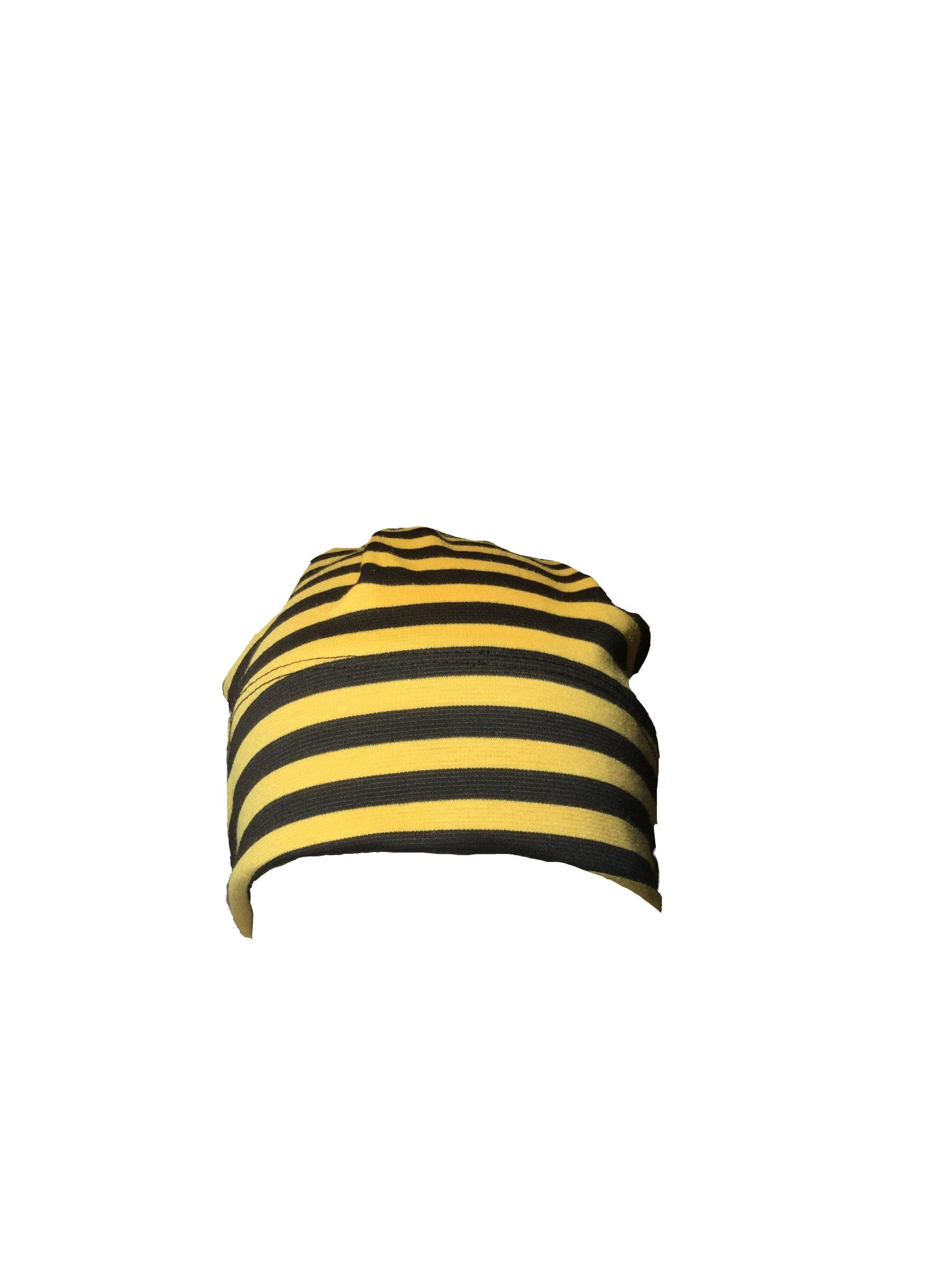 Davinaire Black Yellow Striped Beanie 94ae967caa8