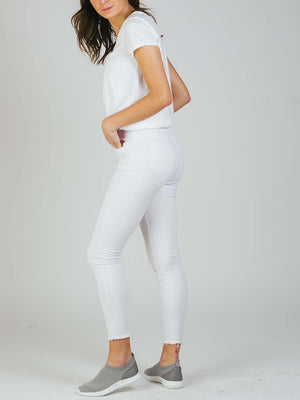 Jeans Luxe Skinny Blanco